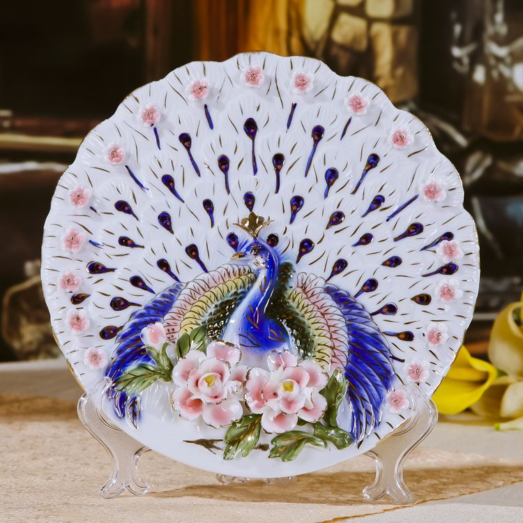 decorative Chinese plate & decorative Chinese plate | The Peacock Lounge | Pinterest