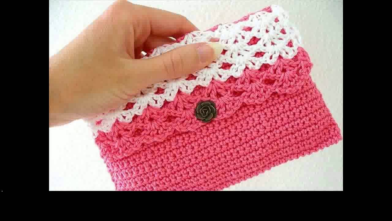 easy crochet purse patterns - YouTube | Knitting bags purses | Pinterest