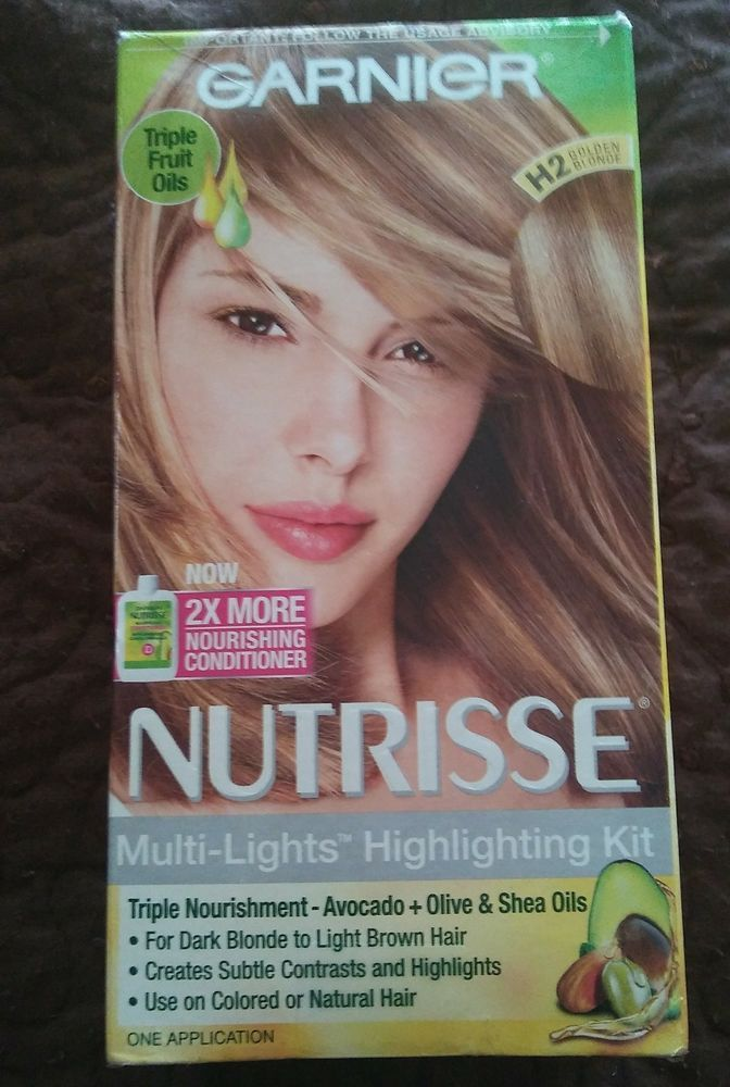 Garnier Nutrisse Multilights Highlighting Kit H2 Golden Blonde