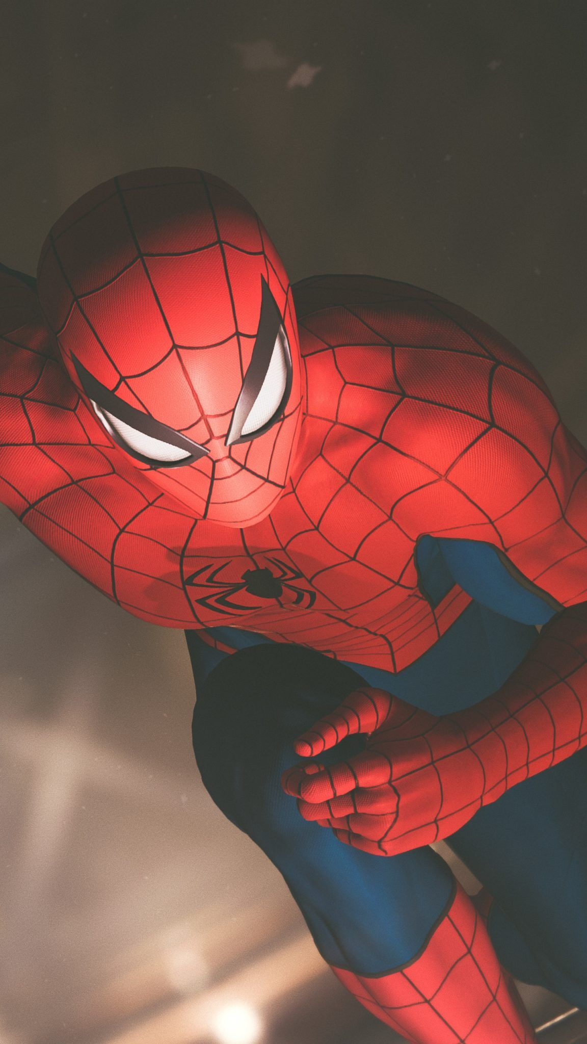 Top Spiderman Wallpapers Ps4 Far From Home Into The Spider Verse Update Freak Seni Animasi Pahlawan Super