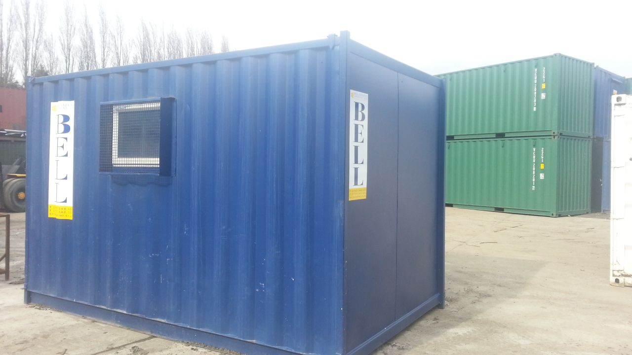 Baby 10ft Shipping Container Office Conversion Shipping Container Office Container House Container Office