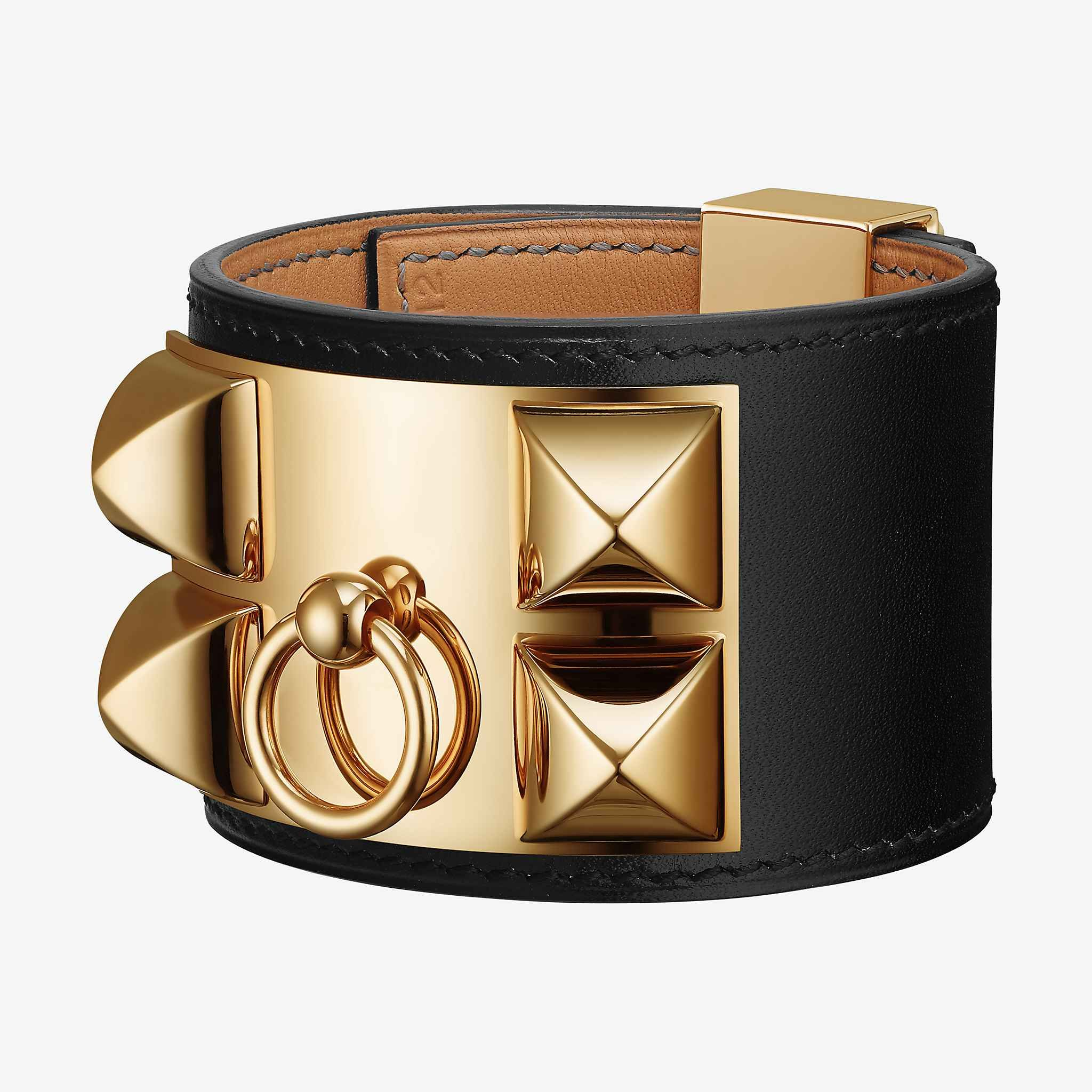 enlarged collier s hermes herm bracelet realreal de products the jewelry bracelets cuff chien