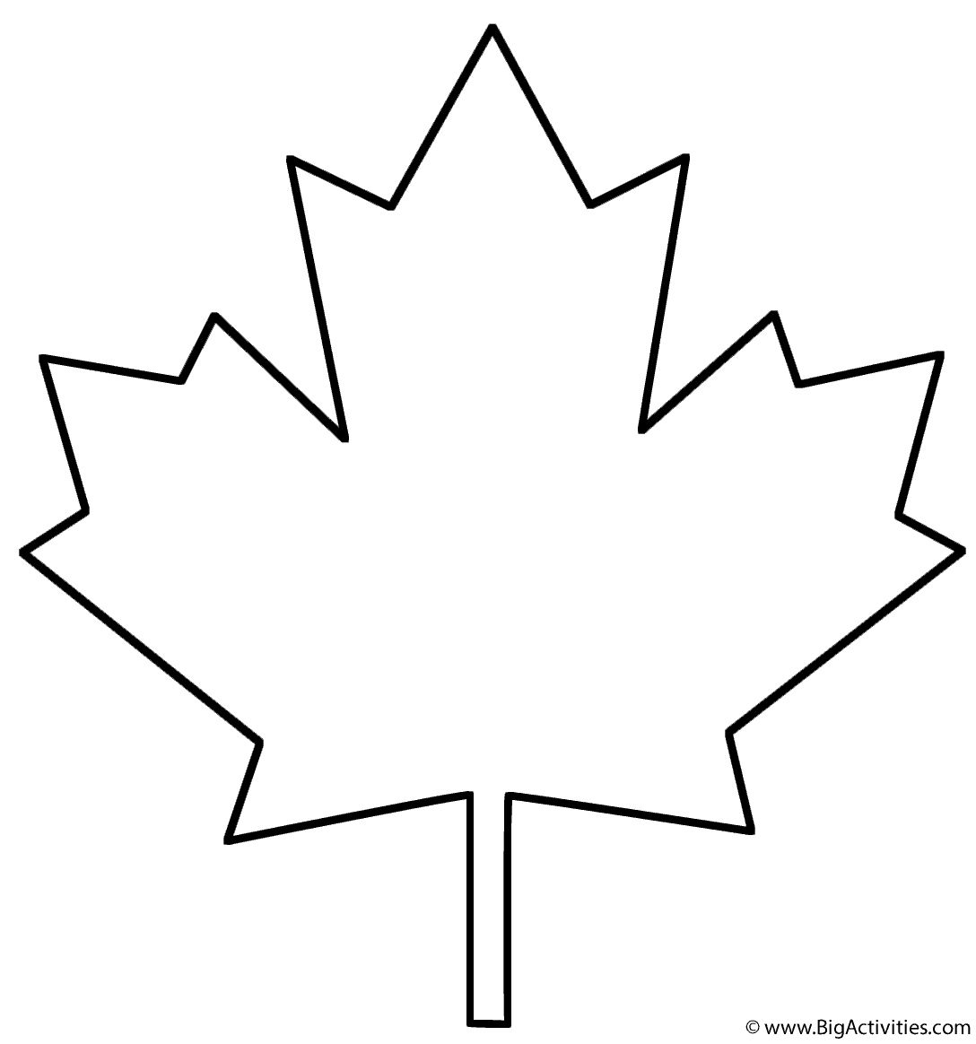 27 Inspiration Picture Of Leaf Coloring Page Entitlementtrap Com Maple Leaf Template Leaf Coloring Page Leaves Template Free Printable