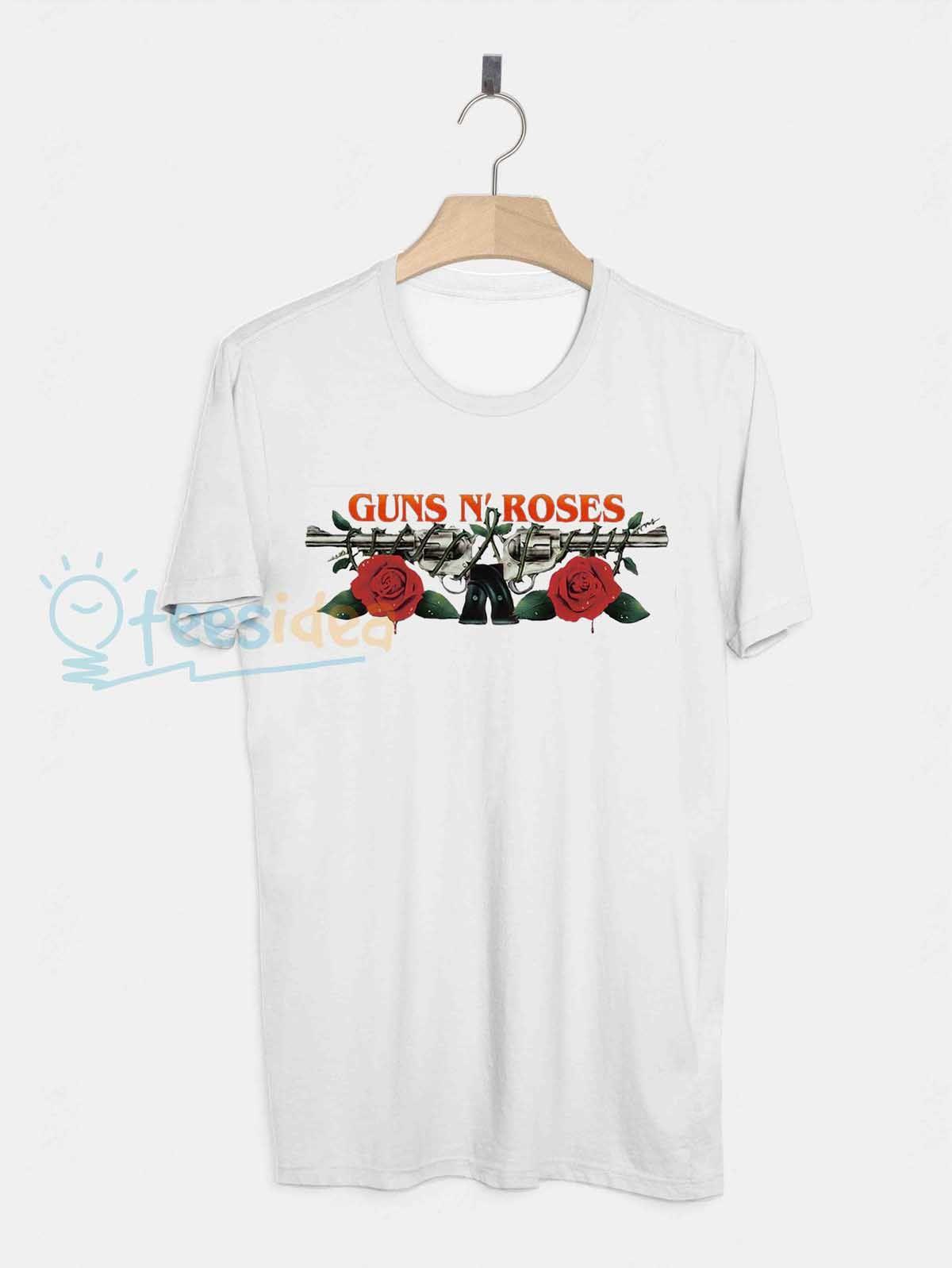 Guns N Roses Logo Unisex Adult T Shirt - Get 10% Off!!! - Use Coupon Code 'TEES10'