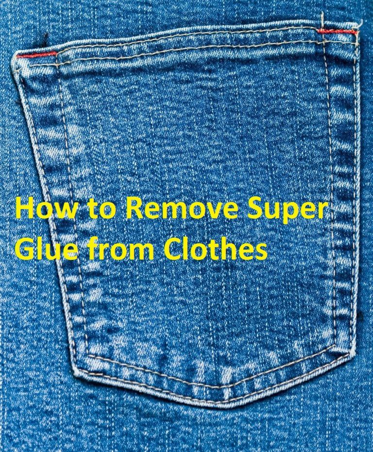 How to Remove Dried Glue from Fabric | House Cleaning | How