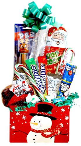 Christmas Candy Gift Basket  http://www.fivedollarmarket.com/christmas-candy-gift-basket/