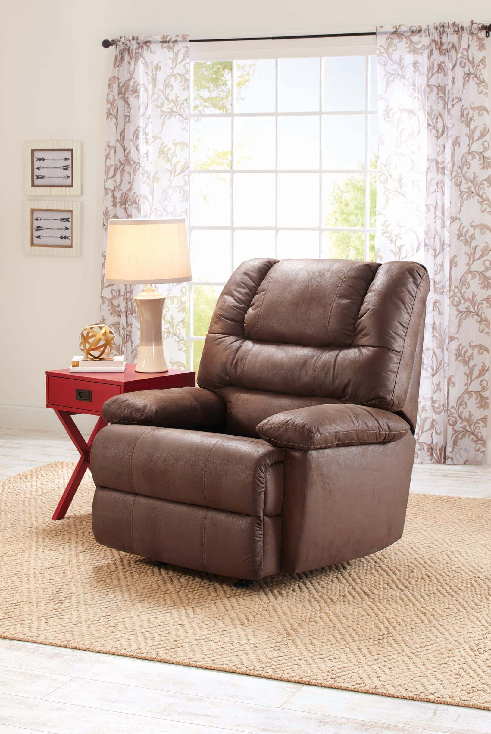 Kick back in the Deluxe Recliner and turn on the football