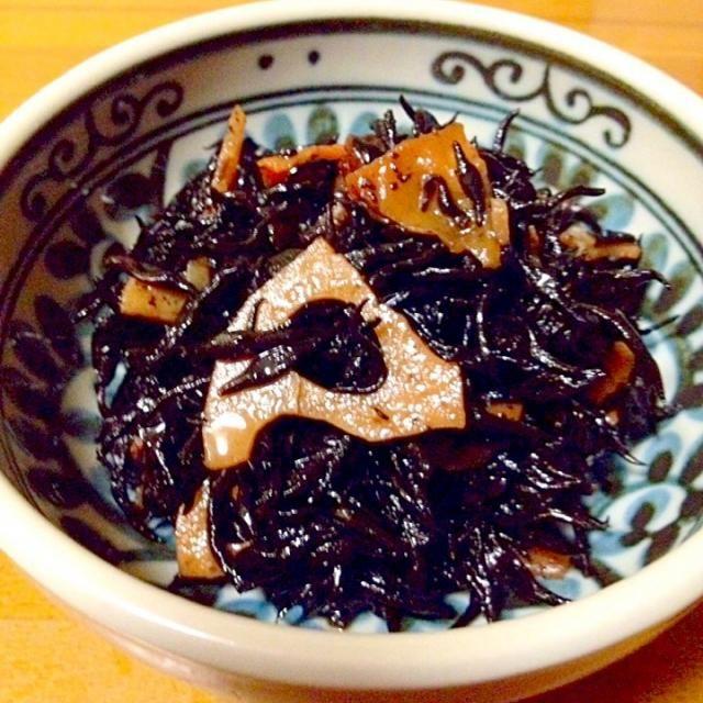 ひじきの煮物です。 - 99件のもぐもぐ - ひじきの煮物 by mayumi0525