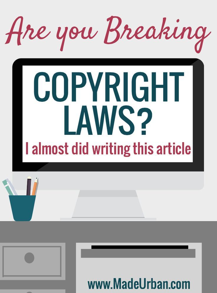 Is your Handmade Business Breaking Copyright Laws