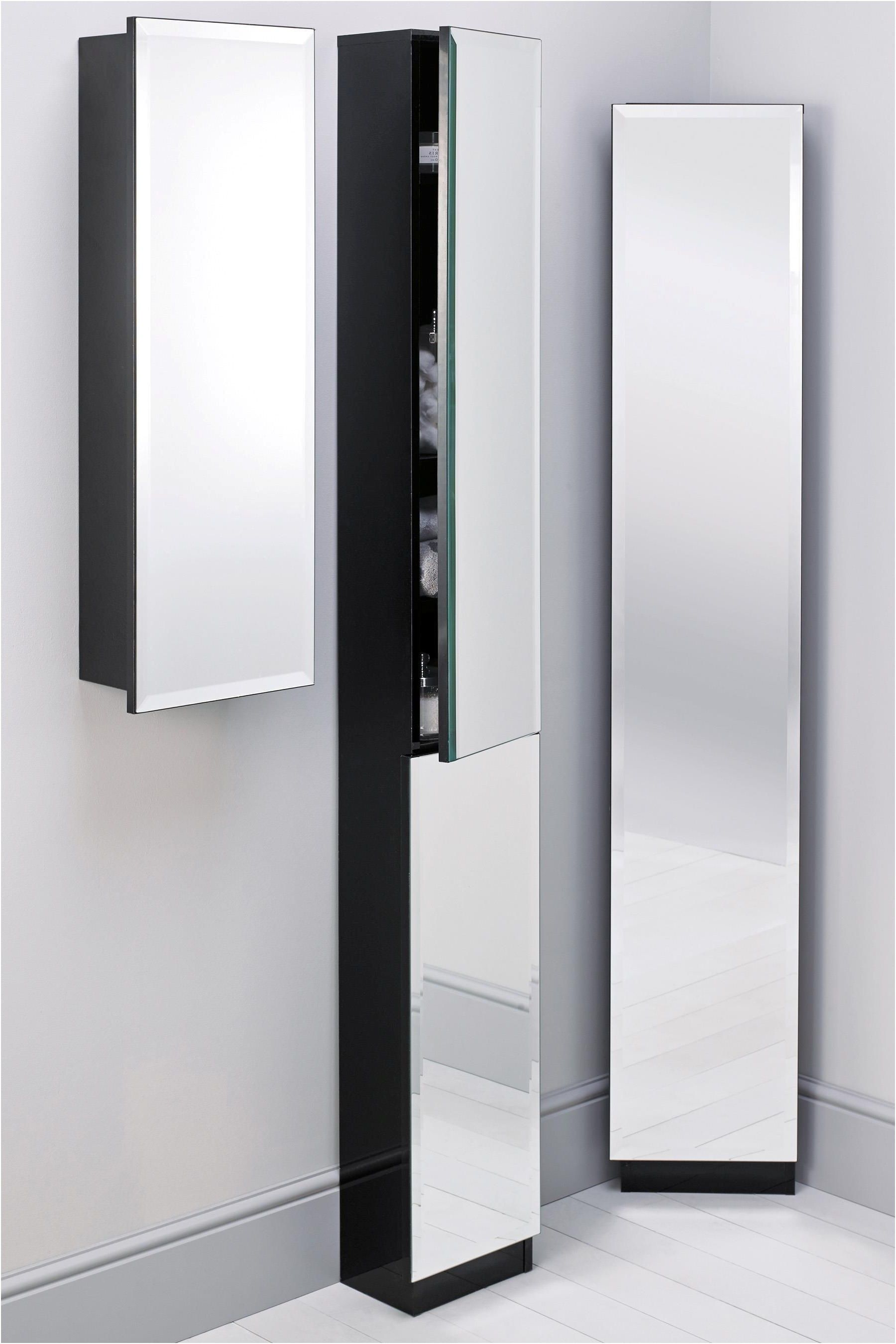 Mirror Design Ideas Tall Ideas Mirrored Corner Bathroom Cabinet From Black Corner Bathroom Cabinet
