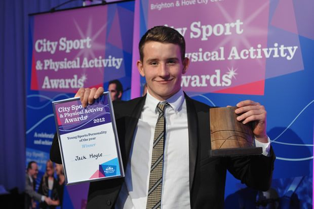 Jack Hoyle sports personality of the year