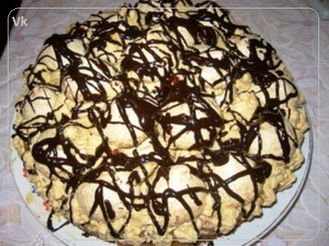 торт графские развалины с безе рецепт с фото