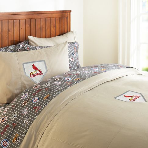 Big St Louis Cardinal Fans Love This Bedding From Pottery Barn