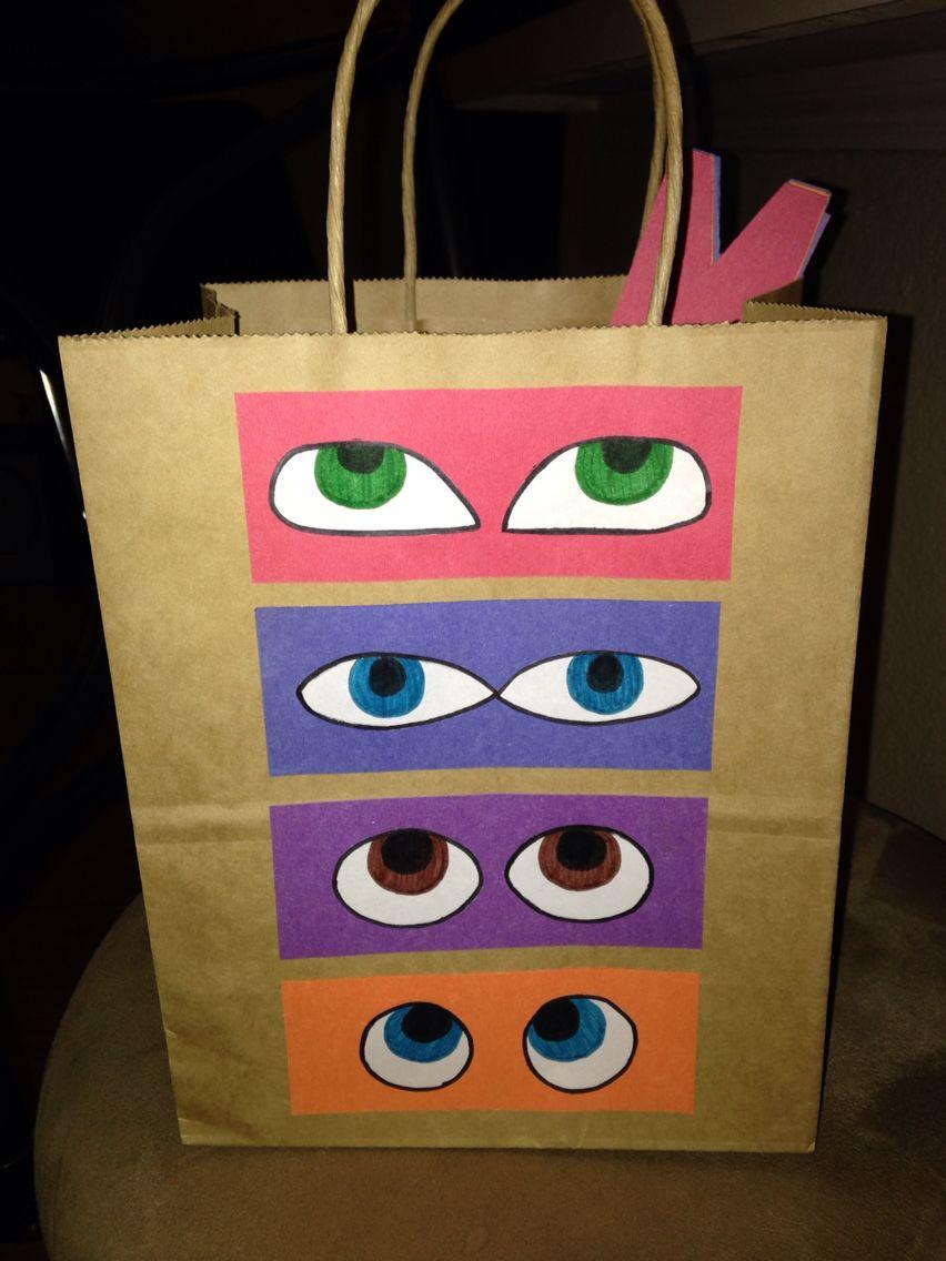 TMNT goodie bags