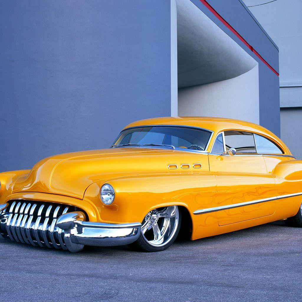 Cadillac Classic Car Custom Tuning IPad Wallpaper