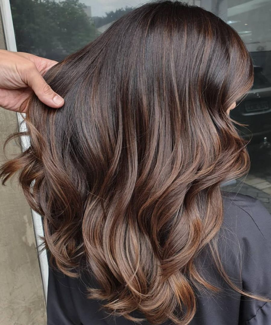 Toffee Is The New Color Bet To Light And Warm Brown Hair Ritzca Bet Brown Color Hair Light Ritzc In 2020 Warm Brown Hair Light Brown Hair Brown Hair Balayage