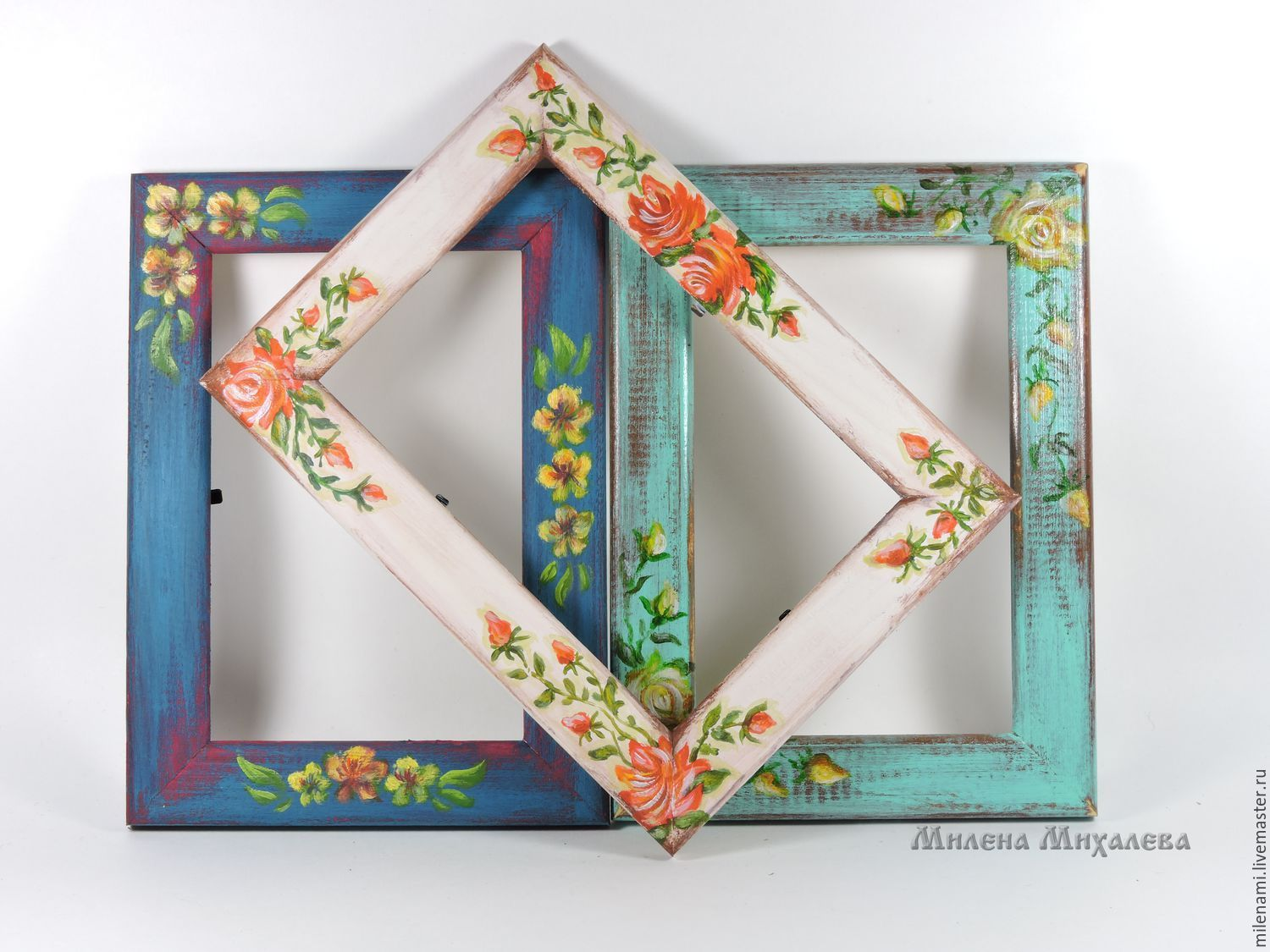 Photo Frames Hand Painted Order At The Masters Fair 6r0n7com