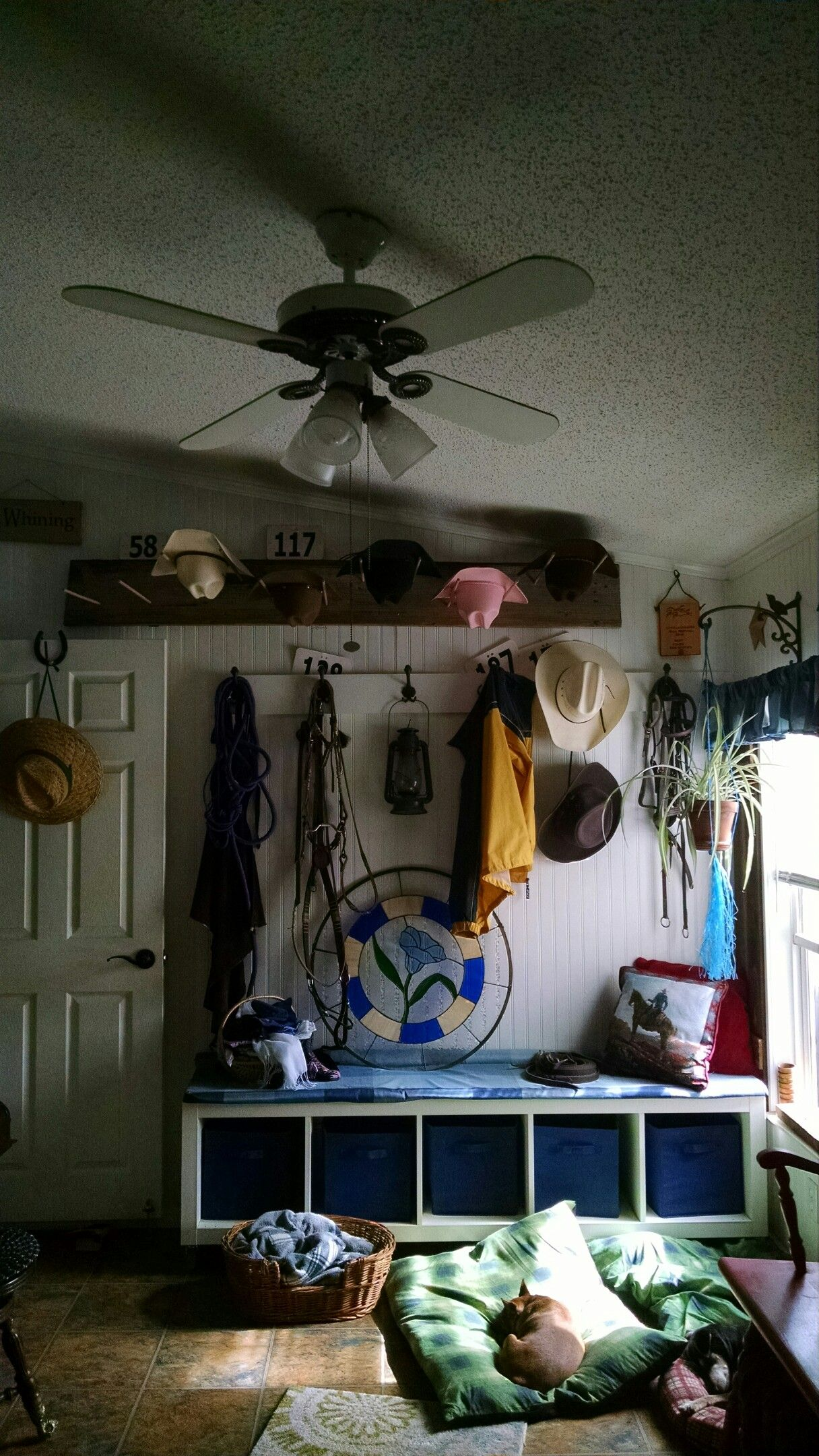 our mud room