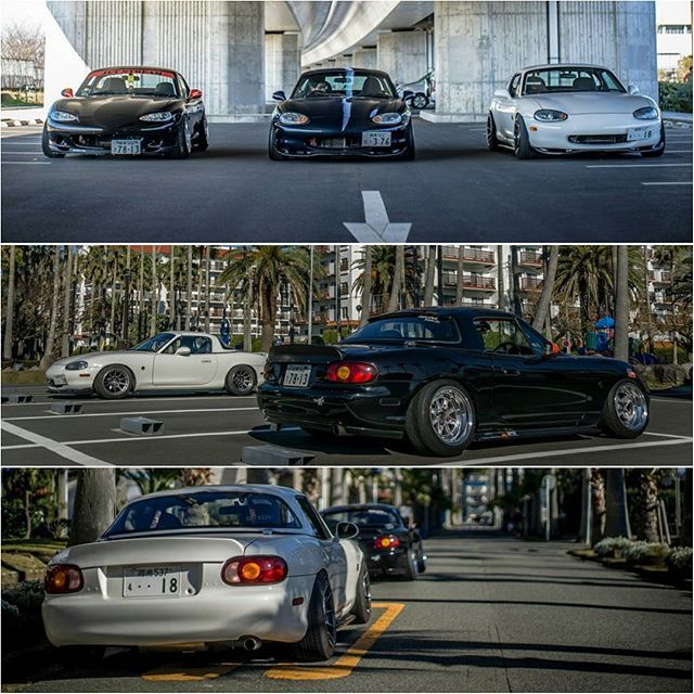 Via TopMiata FB / Yamaishi Dohan #Japan #JDM TopMiata.com   #TopMiata #mazda #miata #mx5 #eunos #roadster