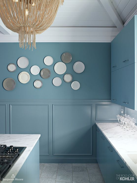 love this shade of blue! it's benjamin moore province blue and it