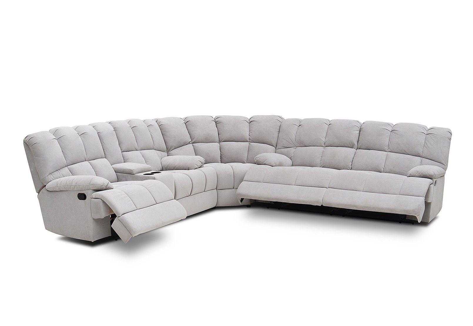Spartacus Fabric Corner Lounge Suite | Amart Furniture