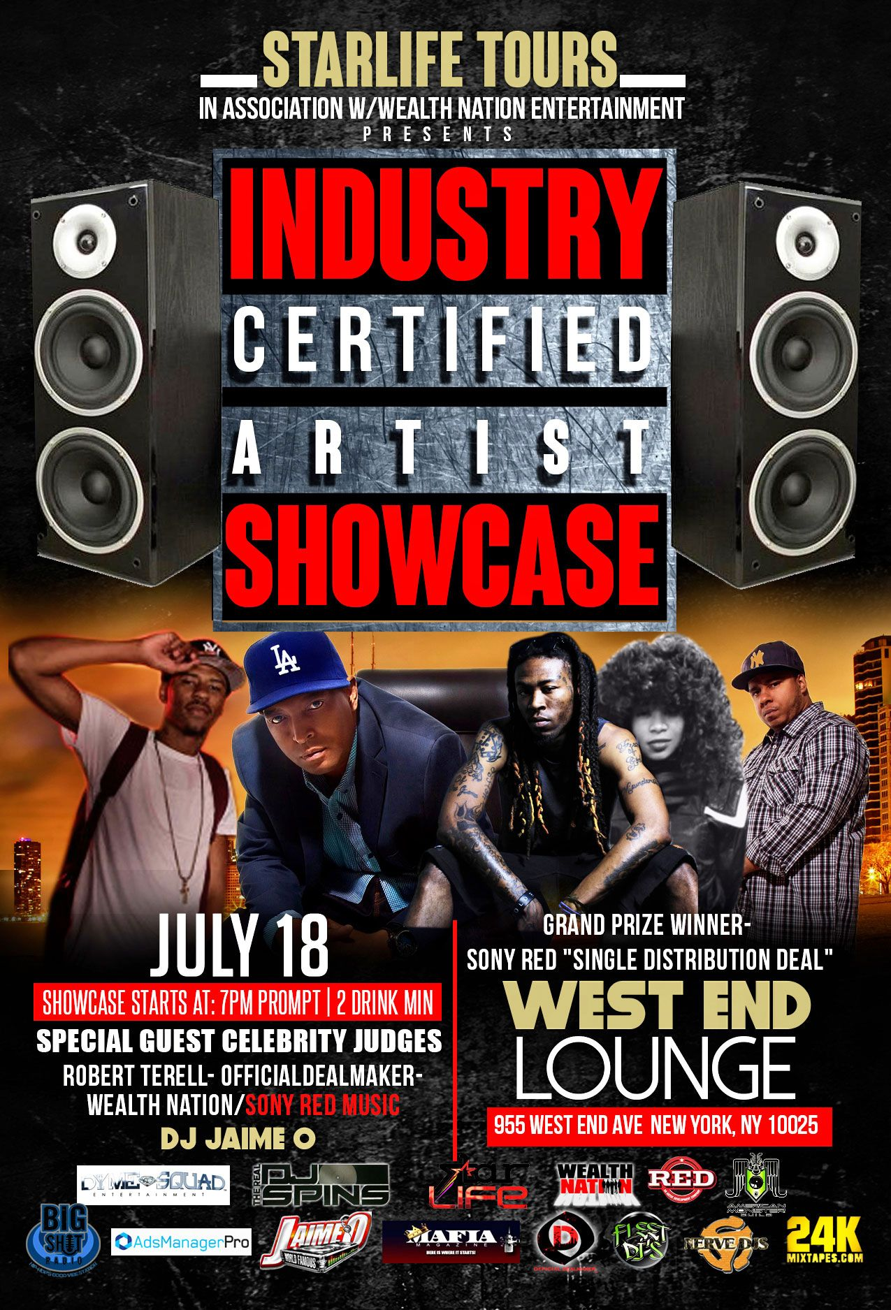 Industry Certified Artist Showcase Artwork Designed By Graphicwind For More Info Web Www Graphicwind Com Or Please Email Us To Poster Affiche Affiche Poster