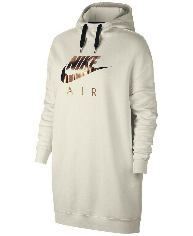 New Nike Sportswear Womens Metallic Logo Oversized Fleece Hoodie Size Large Ideas Of Nike Hoodie Women Ni Nike Sportswear Women Nike Sportswear Sweatshirts [ 1500 x 1230 Pixel ]