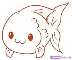 Small Fish Art Design Idea Pencil Fish Cute Art