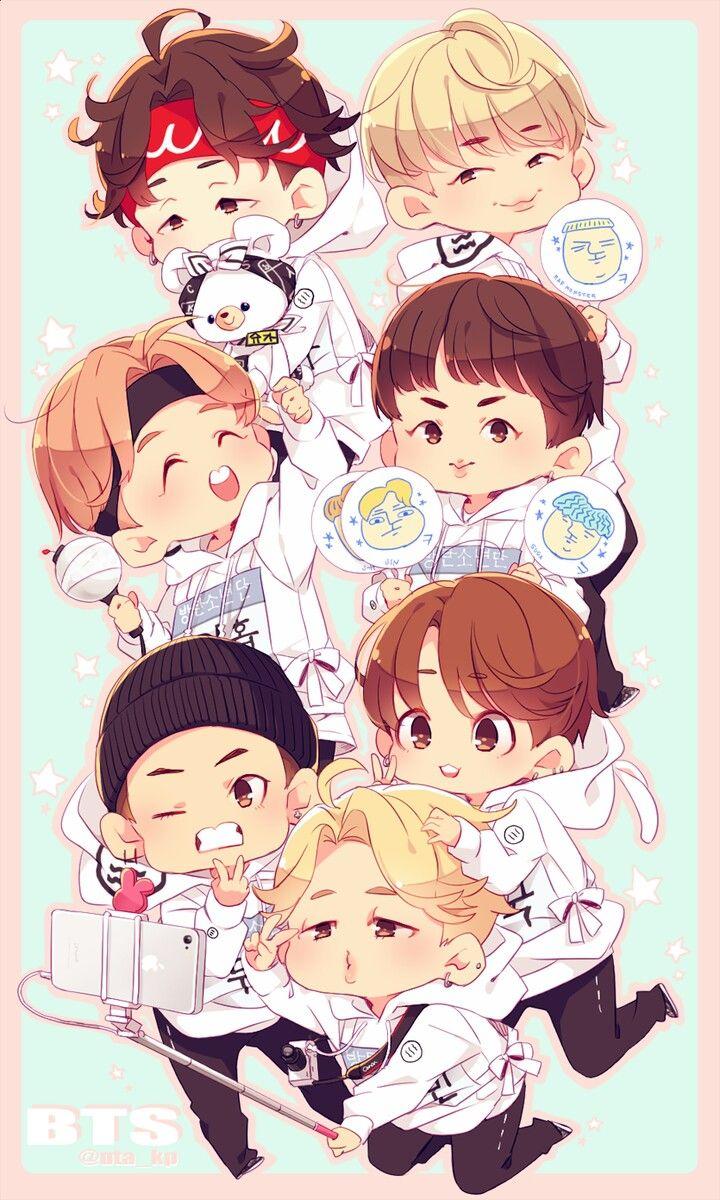 Cutieee BTS Pinterest BTS, Fanart and Kpop
