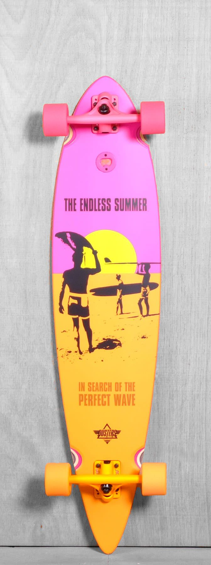 "Dusters 42"" Endless Summer Longboard Complete"