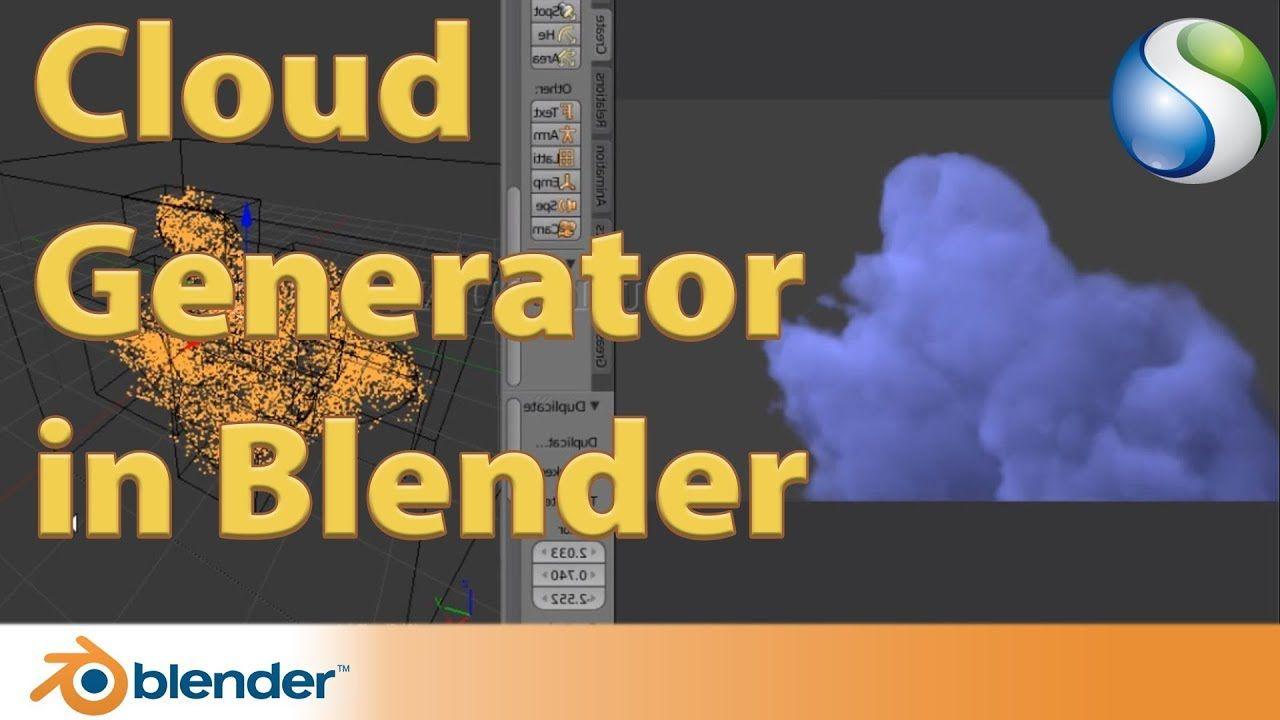 cloud generator in blender