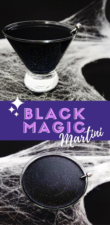 Black Magic Cocktail Recipe Halloween drinks