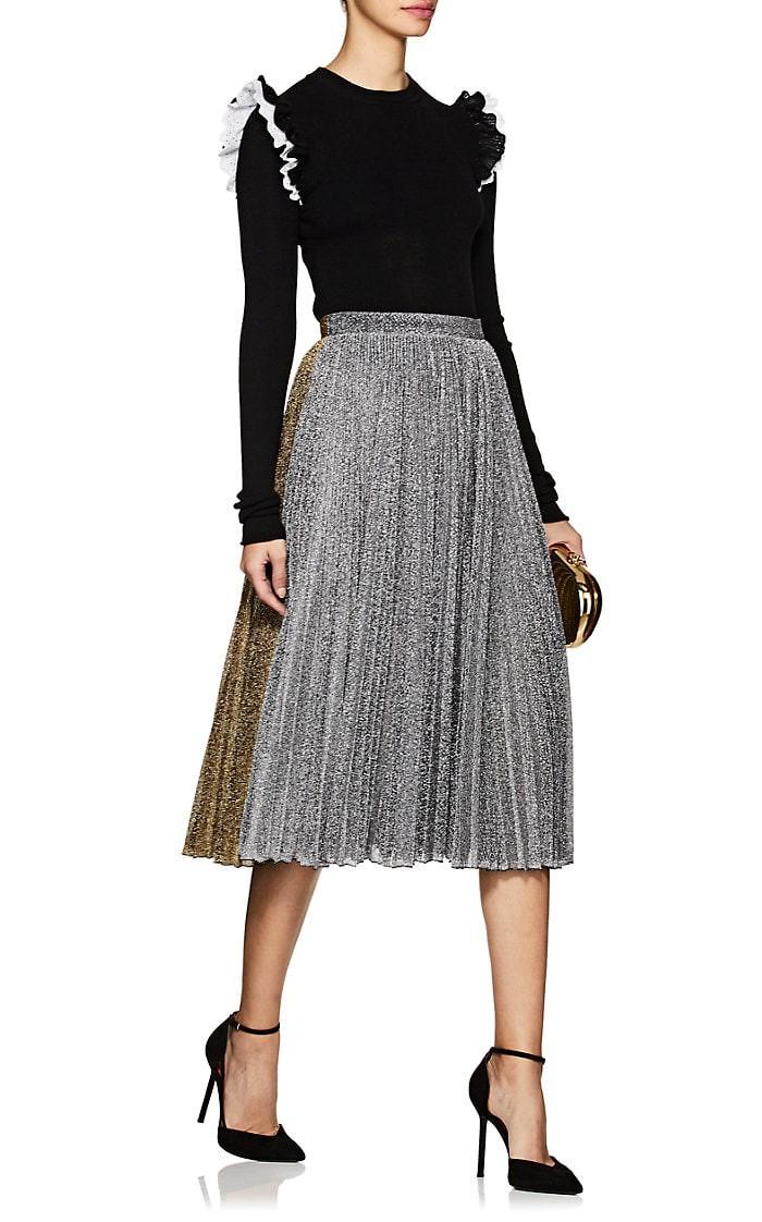 71e0936531c Wool Frilled-Shoulder Sweater by Philosophy di Lorenzo Serafini in ...