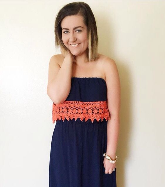 Blogger @the.mrs.mcqueen wearing our beautiful 'When We Were Young' Maxi Dress! BELOW $40+FREE SHIPPING! http://www.shopaffordablychicboutique.com
