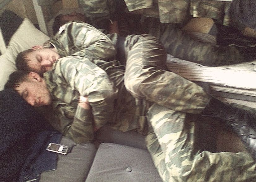 Millitary sex position
