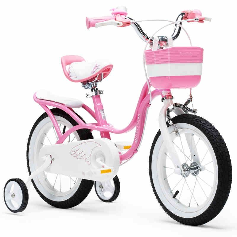 Upgraded Royalbaby 12 And 14 Inch Little Swan Girl S Bike Only