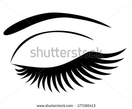 Closed Eyelid Clipart Google Search How To Draw Eyelashes Eyelashes Closed Eyes