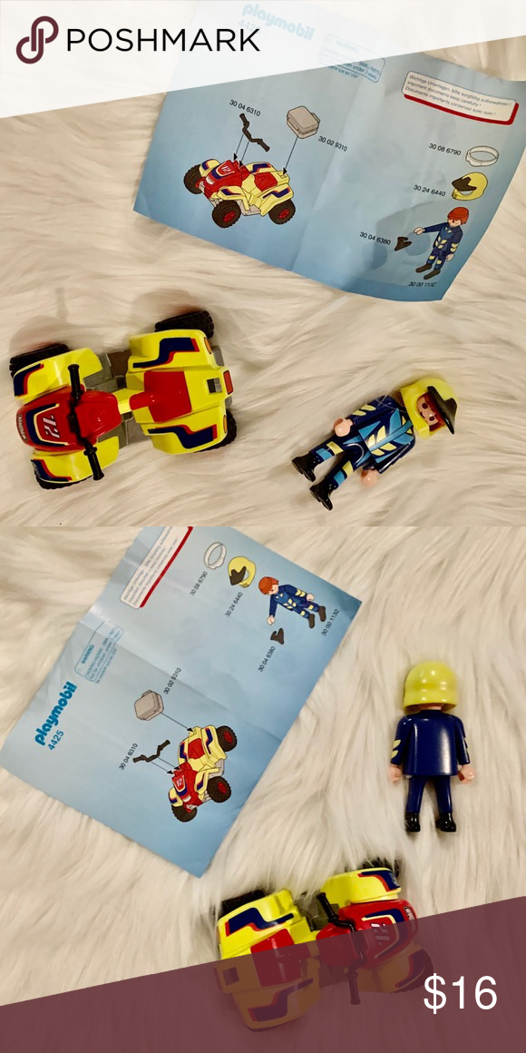 Playmobil 3 Scarves Yellow ¡ condition NEW