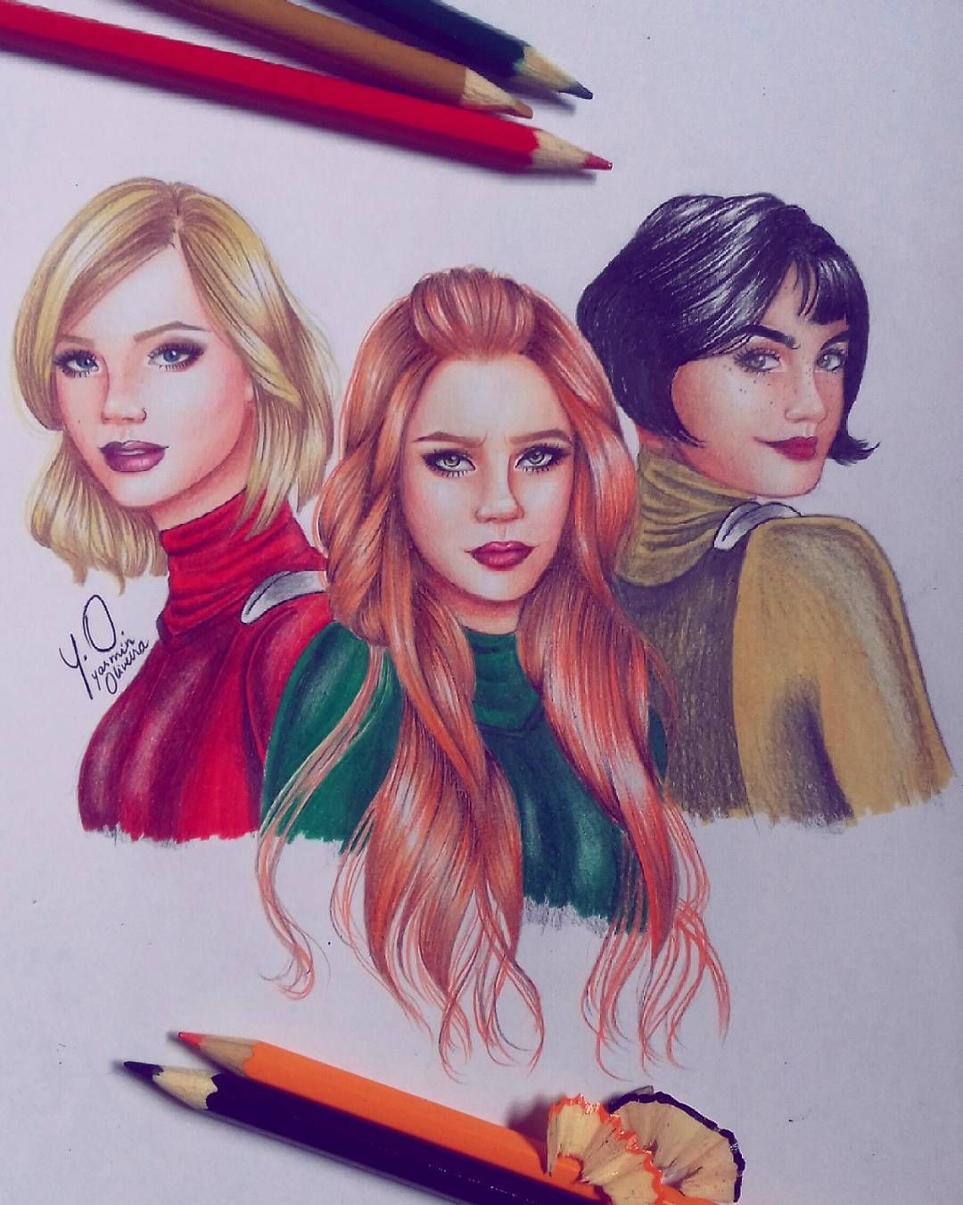 How to draw totally spies