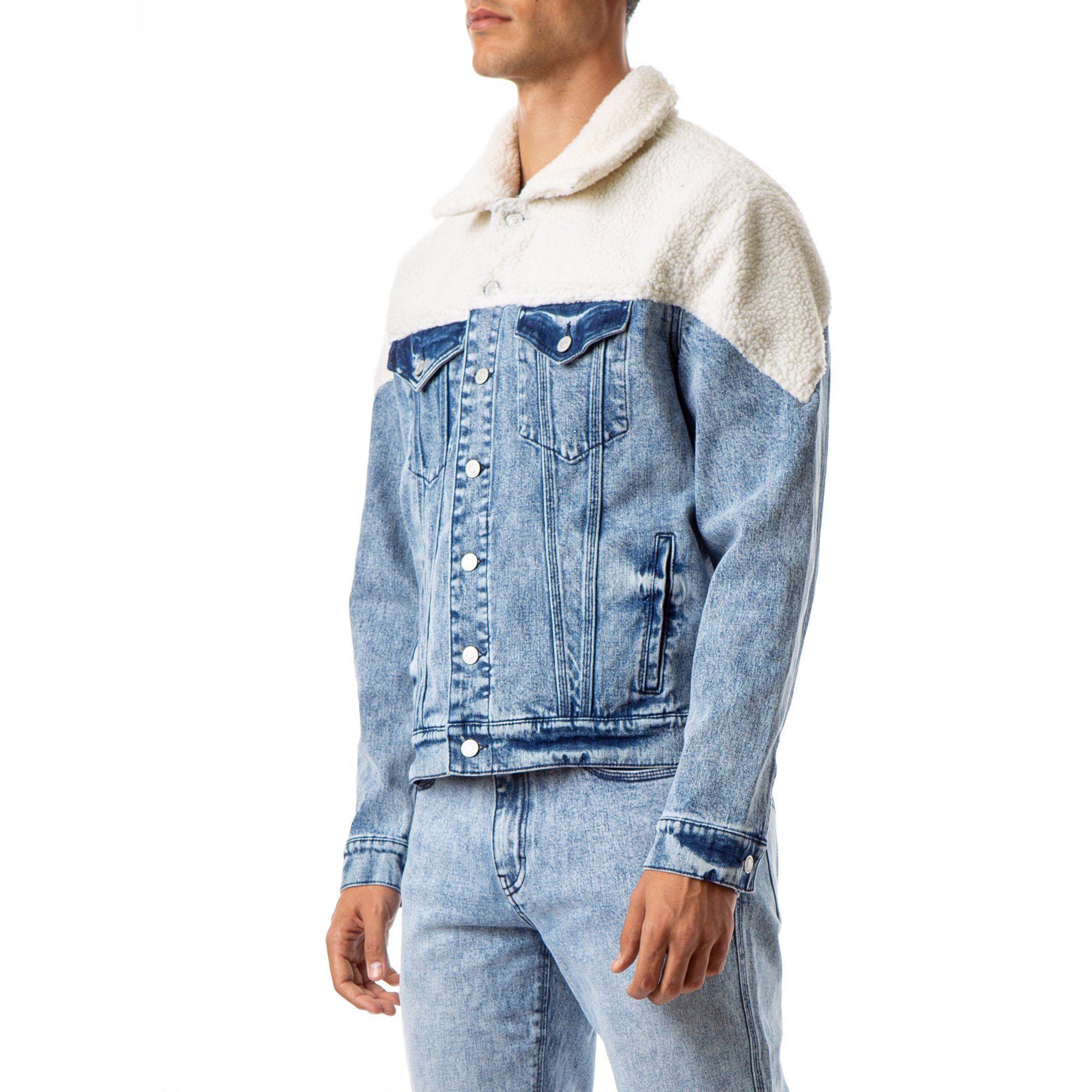 Jordache Vintage Men S Cameron Oversized Faux Sherpa Jacket Walmart Com In 2021 Faux Sherpa Jacket Denim Fashion Sherpa Jacket [ 2000 x 2000 Pixel ]