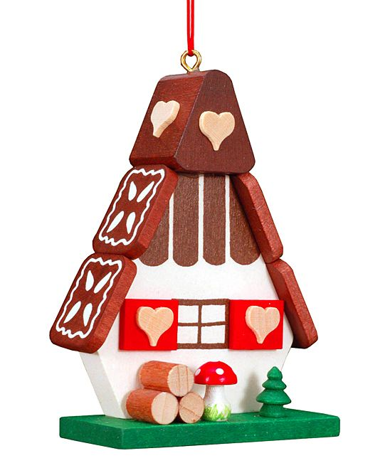 Gingerbread House Ornament by Christian Ulbricht. Christmas ...