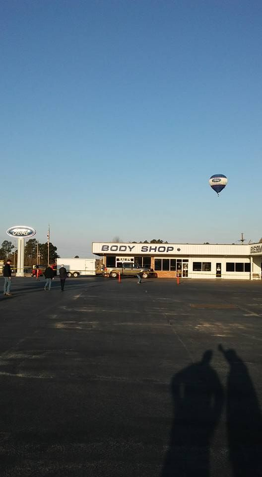 Flying Over De Queen Ford De Queen Ford Balloons