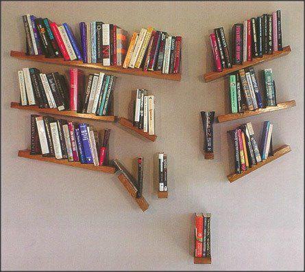 Estante De Livros Criativa Bookshelf Ideas Book Shelves Creative Bookshelves Design
