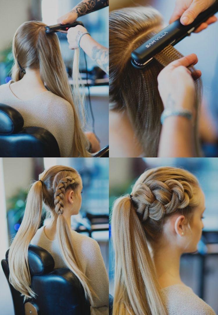 Wikinger Frisuren Frauen Haare Kreppen Anleitung Frisuren Hairstyle Hair Wikinger Frisuren Geflochtene Frisuren Ausgehfrisuren