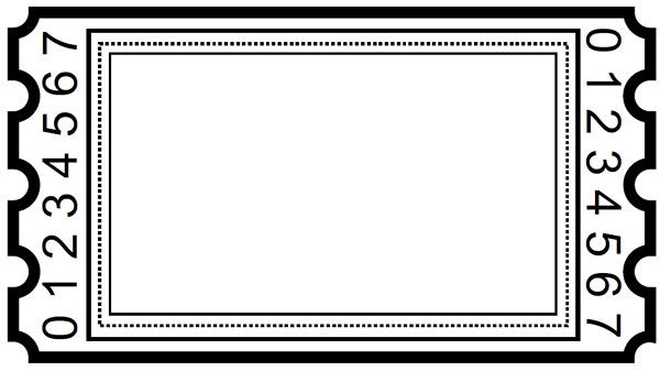 Blank Ticket Clipart Ticket Template Free Printables Ticket Template Free Ticket Template