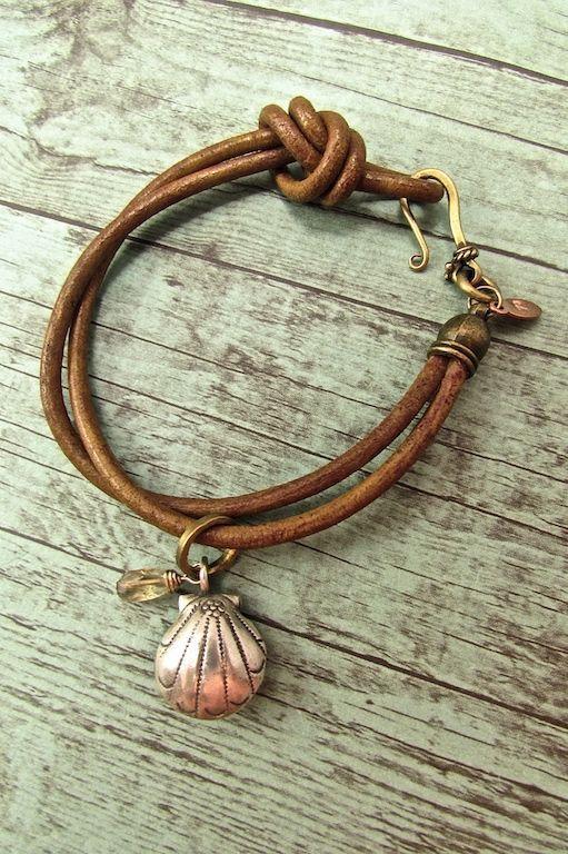 Awesome Handmade Boho Chic Bracelets Leather Cord Hill Tribe Silver Seas Bracelet Hippie Jewelry