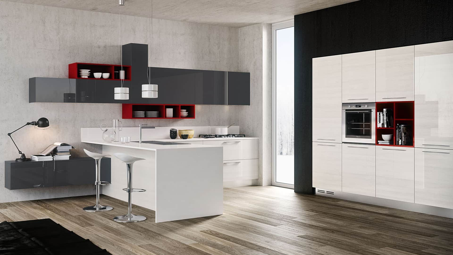 Berloni küchen ~ Cucine moderne ad angolo a padova. trova la tua cucina angolare