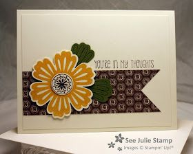 See Julie Stamp - Julie Wadlinger, Stampin' Up! Demonstrator : Mixed Bunch - CASE'd Pin