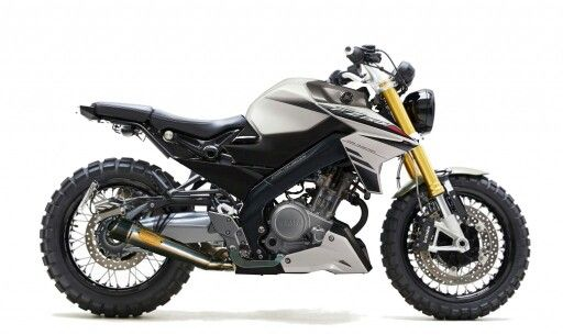 Modifikasi Yamaha Vixion Ala Scrambler Mobil Sepeda Kendaraan