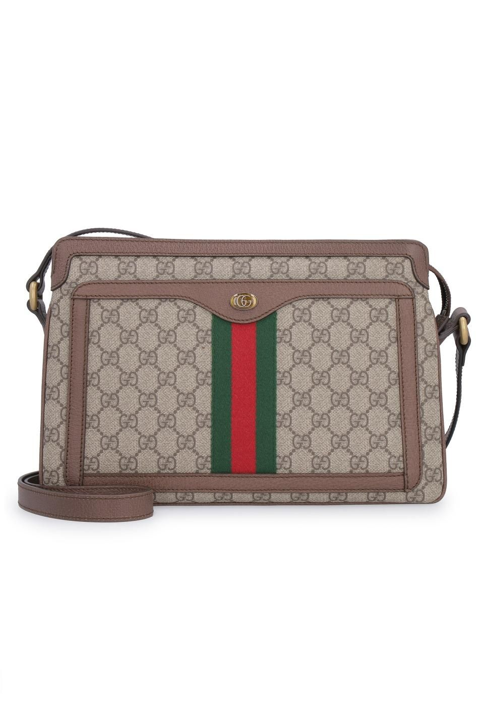 GUCCI GG Supreme单肩包.  gucci  bags  canvas  leather  lining  metallic   shoulder bags  pvc 65a36993740